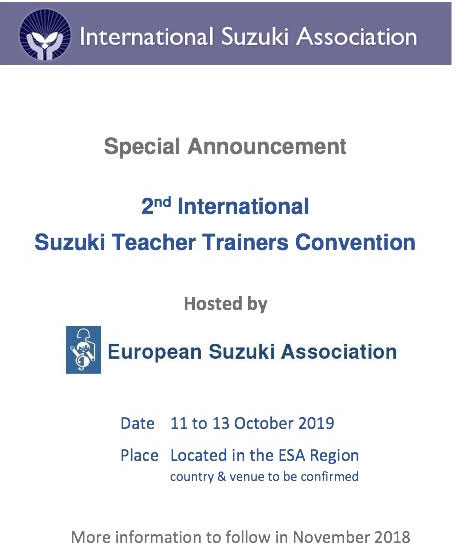 2nd International Teacher Trainers Convention