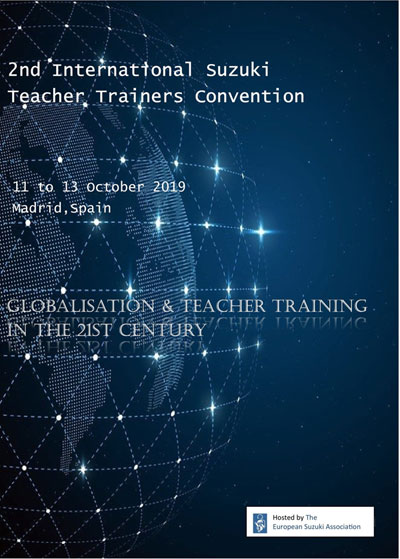 2nd International Suzuki Teacher Trainers Convention